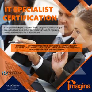 8- IT Specialist Certificacion